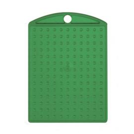 Pixelhobby medaillon plaatje transparant groen 3 x 4 cm