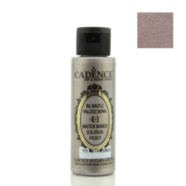 Cadence Gilding metallic acrylverf 113 antiek zilver 70 ml