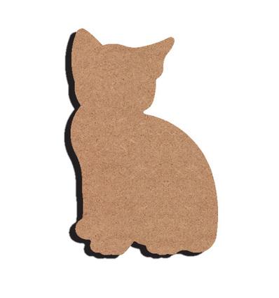Gomille MDF kitten 10 x 16 cm dikte 5 mm