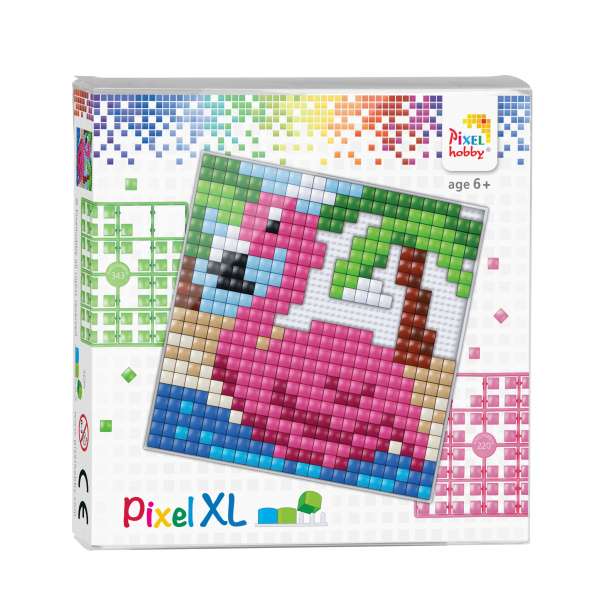 Pixelhobby Pixel XL set flamingo 12 x 12 cm