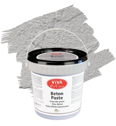 Viva Decor Artline beton paste grau (grijs) emmer 1 liter 118380188