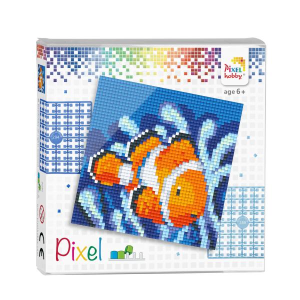 Pixelhobby Pixel set Nemo (clownvis) 12 x 12 cm