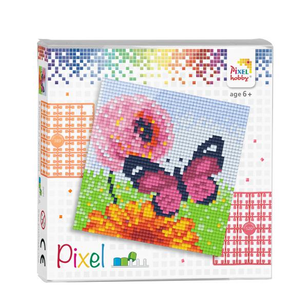 Pixelhobby Pixel set vlinder 12 x 12 cm