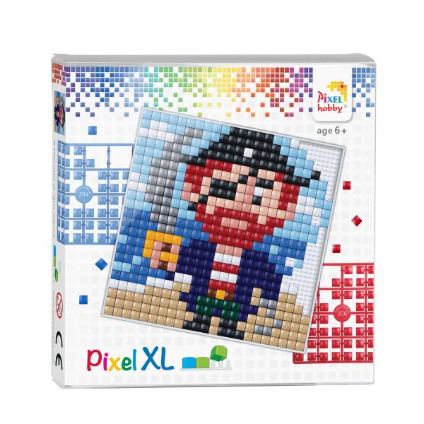 Pixelhobby Pixel XL set piraat 12 x 12 cm