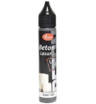 Viva Decor Concrete Beton Lasur dark flesje 28 ml