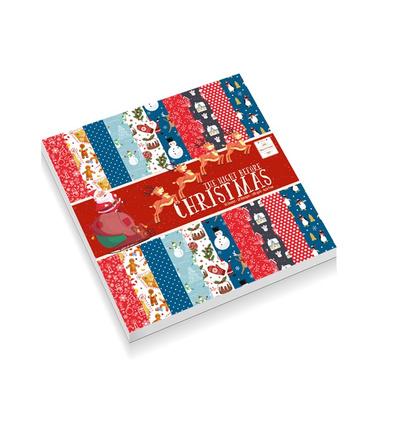 Make & Create the night before Christmas design pad 30 vellen 15 x 15 cm