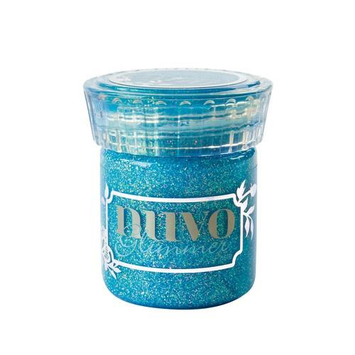 NUVO Glimmer Paste (pasta) blue topaz potje à 50 ml
