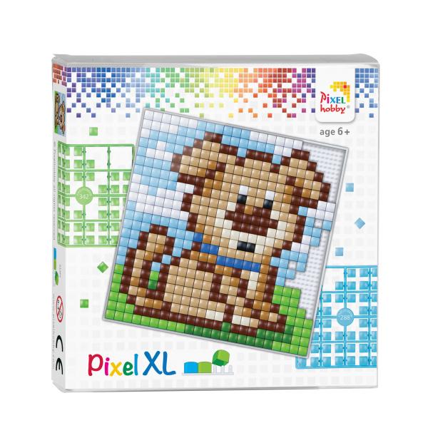 Pixelhobby Pixel XL set hondje 12 x 12 cm