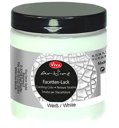 Viva Decor Artline Facetten-Lack Crackling Color white (wit) pot 250 ml