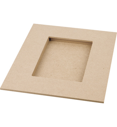 Pronty MDF 3D lijst 20,5 x 25,5 cm dikte 4 mm 461.248.000