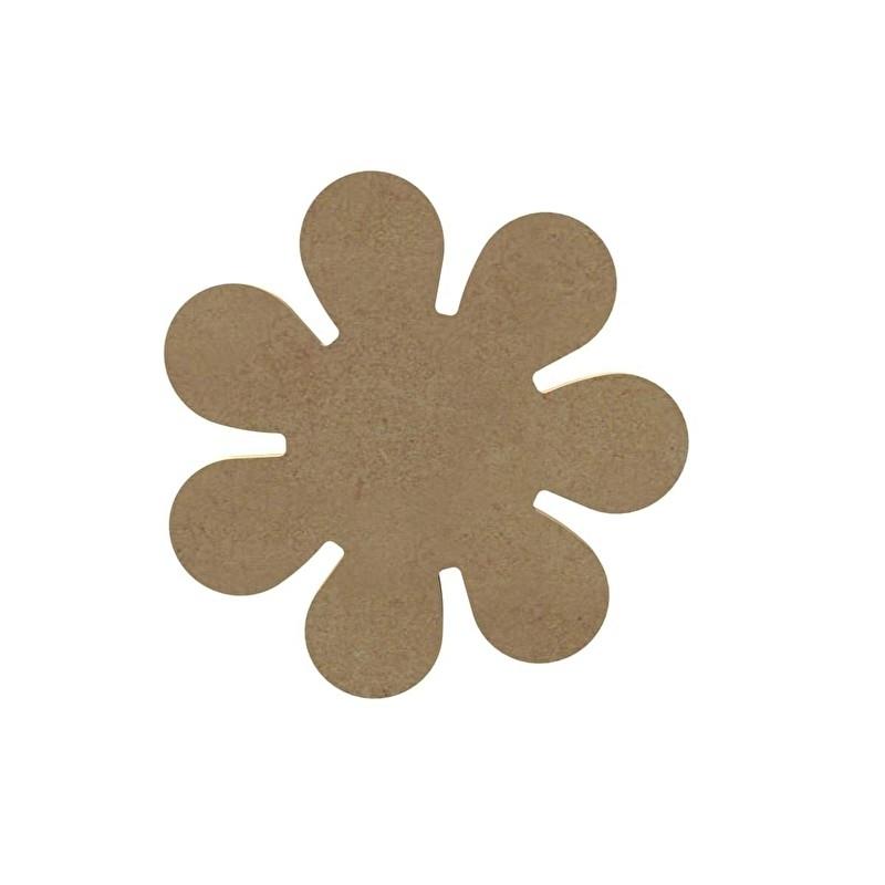 Gomille MDF bloem Ø 13,7 cm dikte 5 mm