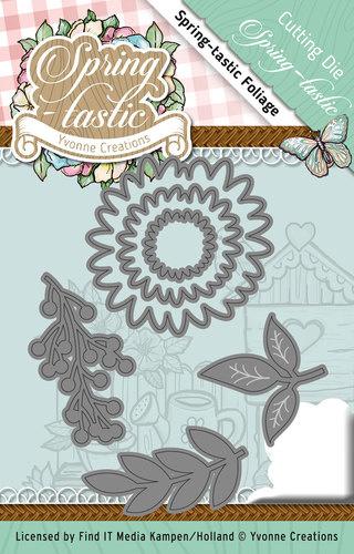 Yvonne Creations Spring-Tastic foliage die (mal) YCD10088