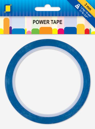 JeJe POWER TAPE blauw circa 10 meter 3 mm 3.3273