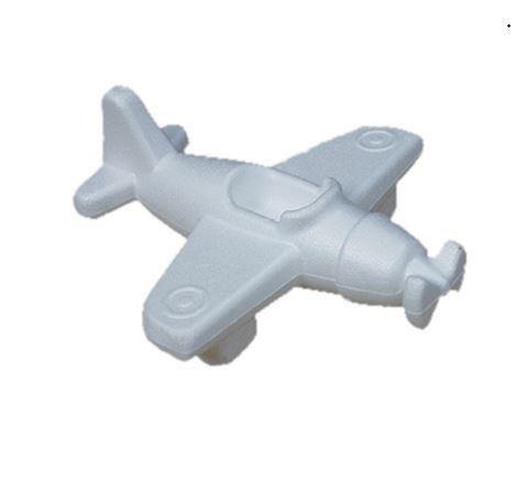 Styropor (piepschuim) vliegtuig 16 x 15 x 5,5 cm