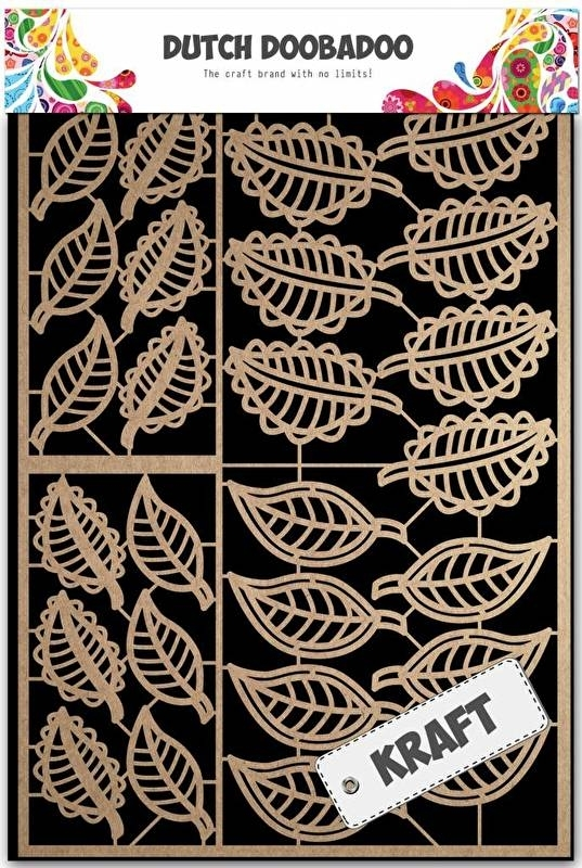 Dutch Doobadoo Craft Art A5 Leaves (bladeren) 479.002.008