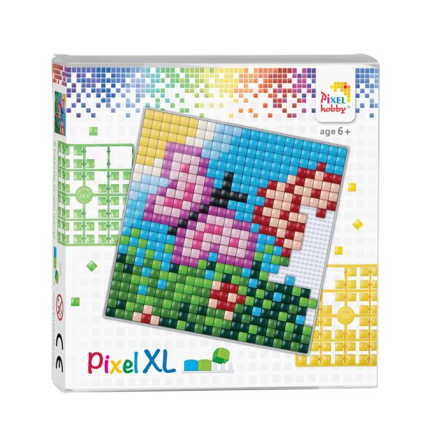 Pixelhobby Pixel XL set vlinder 12 x 12 cm