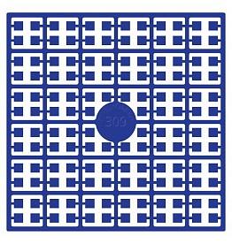 Pixelhobby matje 140 pixels nummer 309 koningsblauw donker