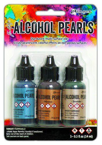 Tim Holtz Ranger alcohol ink pearls kit 4 3 x 14 ml TANK65548