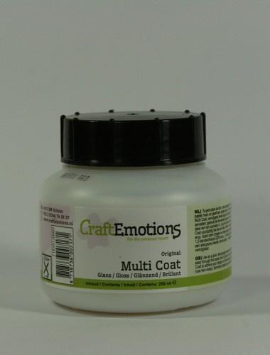 CraftEmotions original multi coat glans pot 250 ml