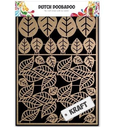 Dutch Doobadoo Craft Art A5 Leaves 2 (bladeren) 479.002.009