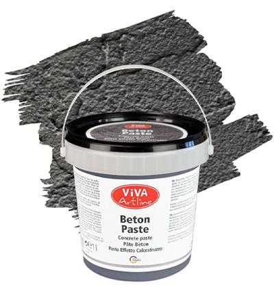 Viva Decor Artline beton paste anthrazit (antraciet) emmer 1 liter 118380288