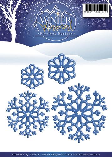 Precious Marieke Winter Wonderland Snowflakes (sneeuwvlokken) PM10051