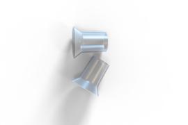 Borstschildverkleiner silicone (2st)