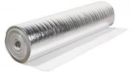 Aluplus zilveren ondervloer (prijs per m2)