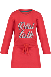 4PRESIDENT Roos girls dress red maat 104