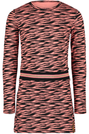 4PRESIDENT Fara girls dress pink tiger maat 104