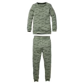QUAPI pyjama Puck green maat 134/140