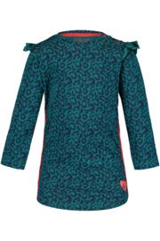 4PRESIDENT Lotte girls dress Dark petrol maat 74