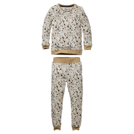QUAPI pyjama Puck off white splash maat 110/116