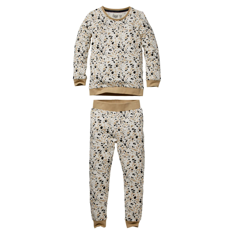 QUAPI pyjama Puck off white splash maat 98/104