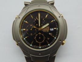 Citizen titanium chronograaf herenhorloge
