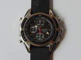 SEIKO SQ 50 chronograaf met wekker