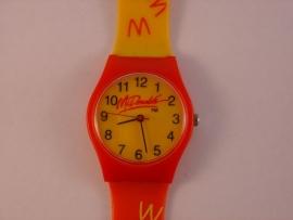 McDonalds horloge gedragen