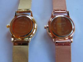 Double/ Rosa double Ernest dameshorloge