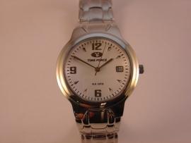 Time Force herenhorloge met staal band 005