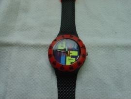 Sportief horloge 3 atm. waterdicht.