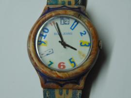 Bleu Jeans horloge