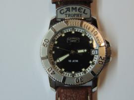 Camel Trophy herenhorloge zwart/bruin