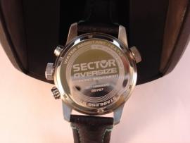 Sector chronograaf Oversize