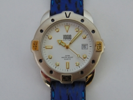Vogue bi-color herenhorloge