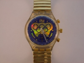 Swatch chronograaf