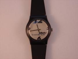 Gilette horloge gedragen