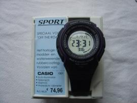 Digitaal CASIO sporthorloge