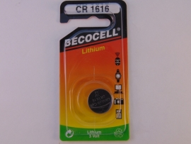 Lithium knoopcel CR 1616