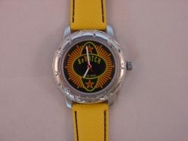 ReWATCH horloge met gele band.