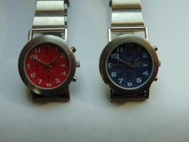 Chroom TIME LINE herenhorloge